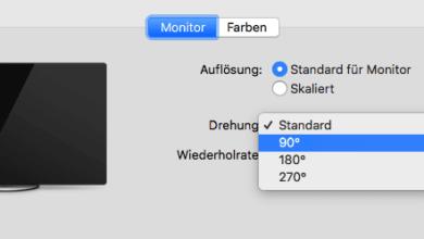 Bild von Anleitung: Bildschirm drehen unter Windows, MacOS, iOS und Android