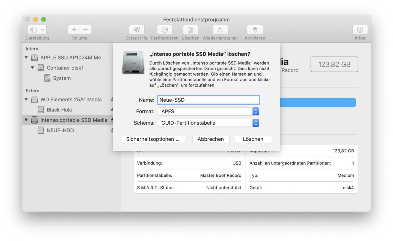 Sd Karte Formatieren Mac.Usb Stick Sd Karte Ssd Und Festplatte Am Mac Formatieren Tutonaut