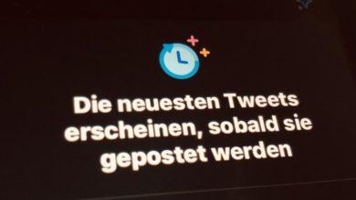 Bild von Twitter: Tweets chronologisch anzeigen