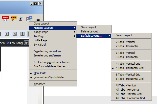 tile pages we screenshot