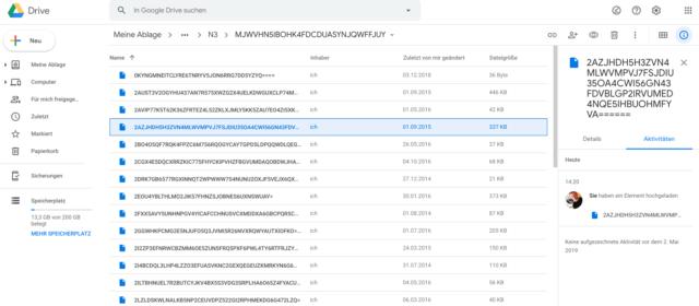 Google Drive Cryptomator