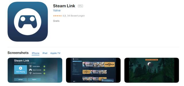 Steam Link iOS