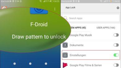 Bild von Anleitung: Android-Apps kosten- und werbefrei per Wischmuster sperren
