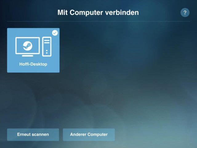 ipad PC koppeln Stream