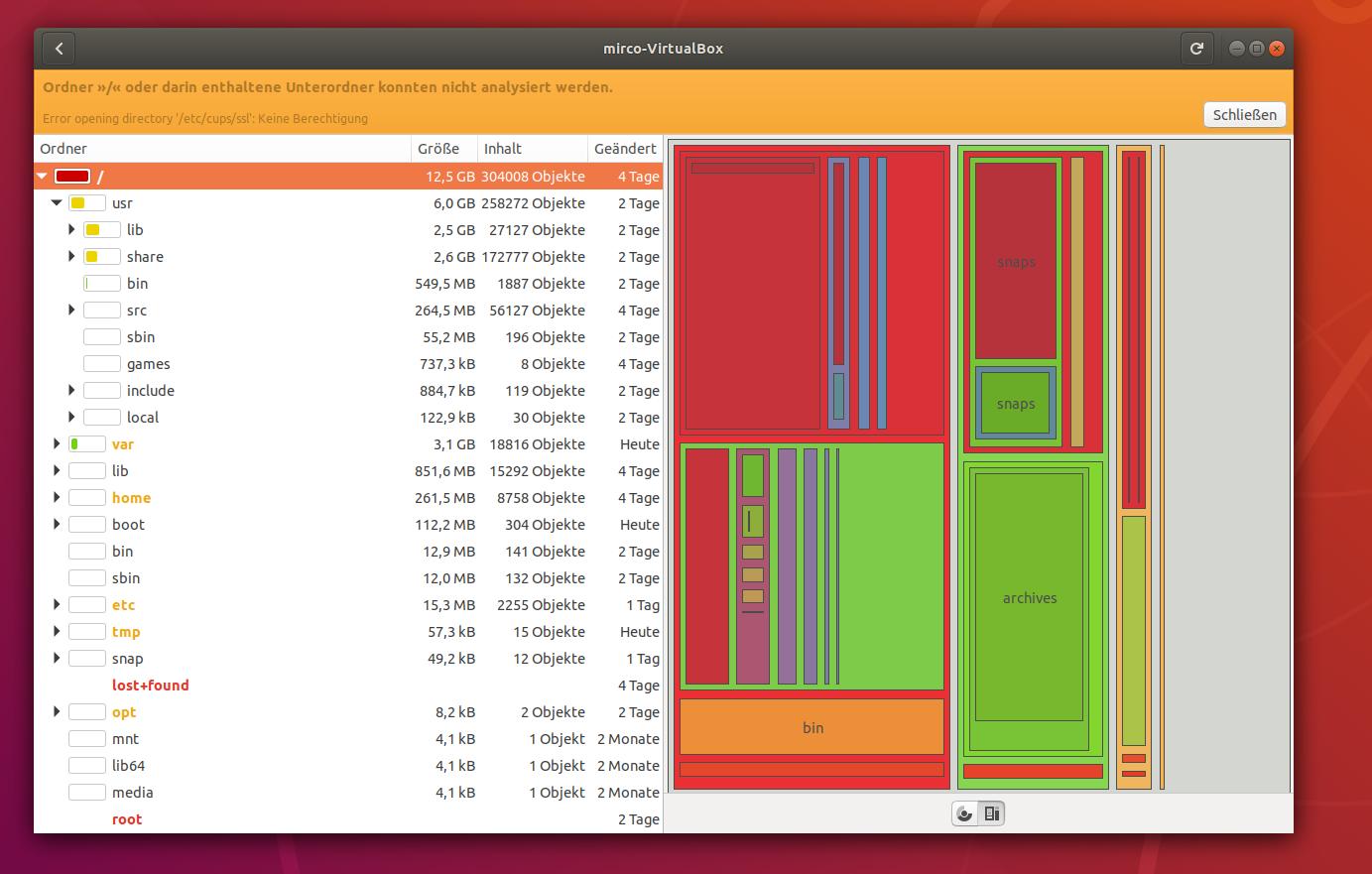 baobab screenshot ubuntu