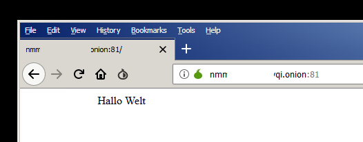 tor browser seite