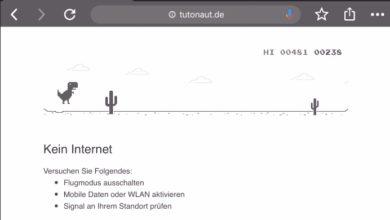 Bild von Kein Internet? Spielt das Dino-Spiel in Google Chrome!