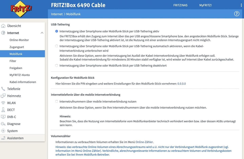 FritzBox als LTE-Router: Anschließen, aktivieren, fertig!