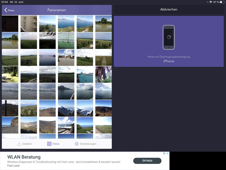 Mit Instashare teilt Ihr Fotos zwischen iPhone und Android.