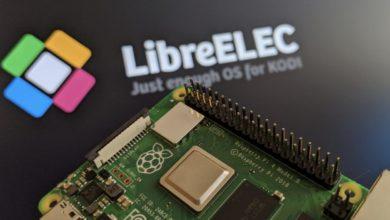 Bild von Kodi über LibreELEC auf dem Raspberry Pi 4 installieren