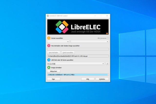 LibreELEC Raspberry Pi 4B installieren
