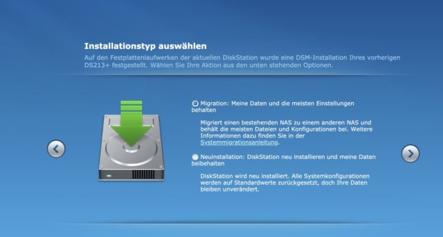 Synology Migration