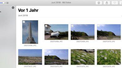 """Bild von """"Heute vor X Jahren"""" in Apple Fotos einrichten"""