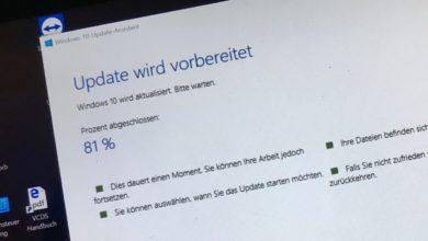 Jaja, das Windows-Update...