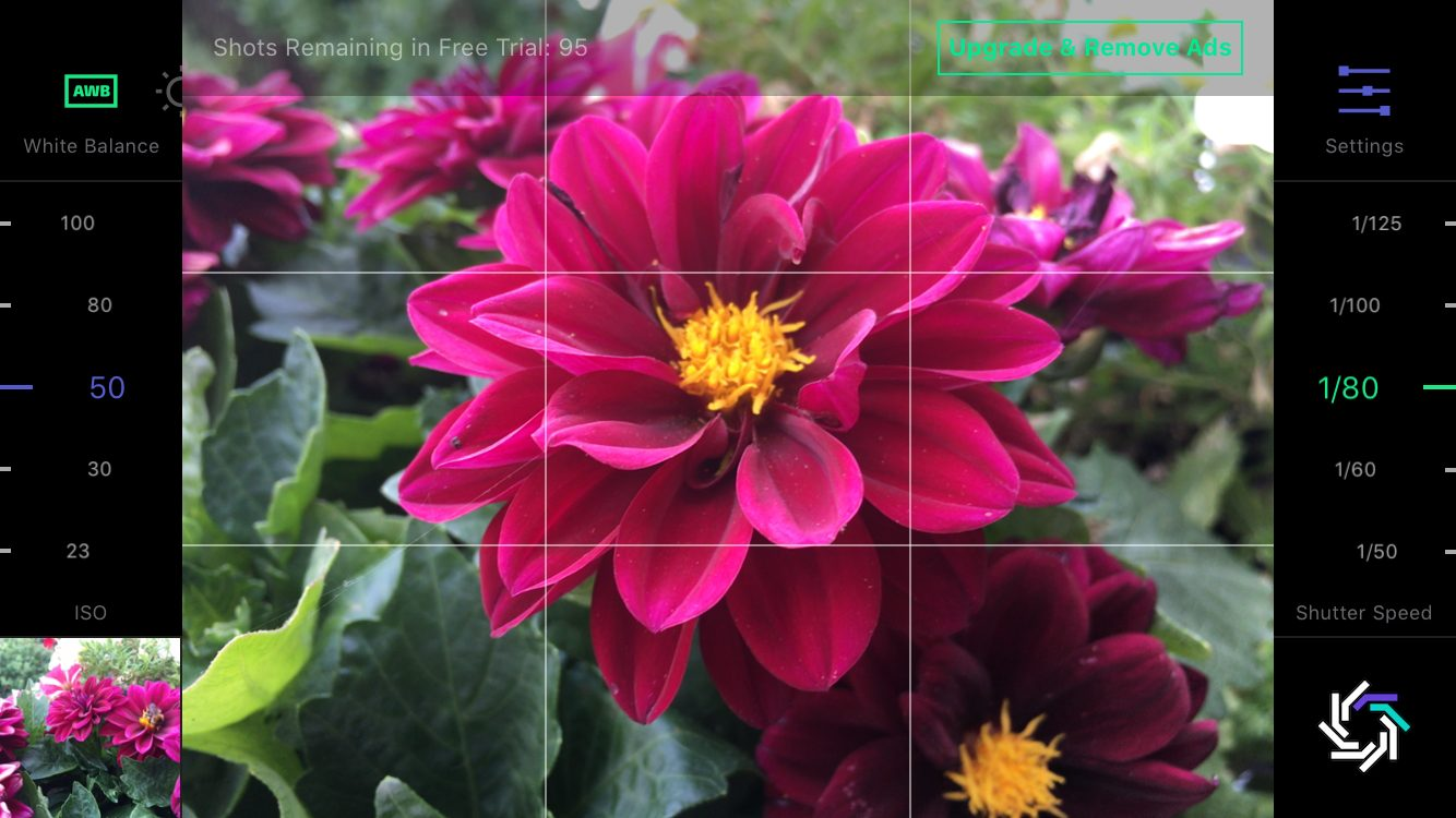 Mit RAW+ sind RAW-Fotos auf dem iPhone schnell erstellt.