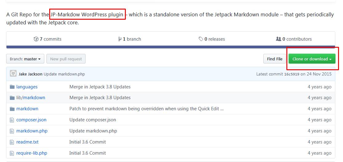 jp markdown