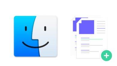 Bild von macOS: Dateierweiterungen anzeigen