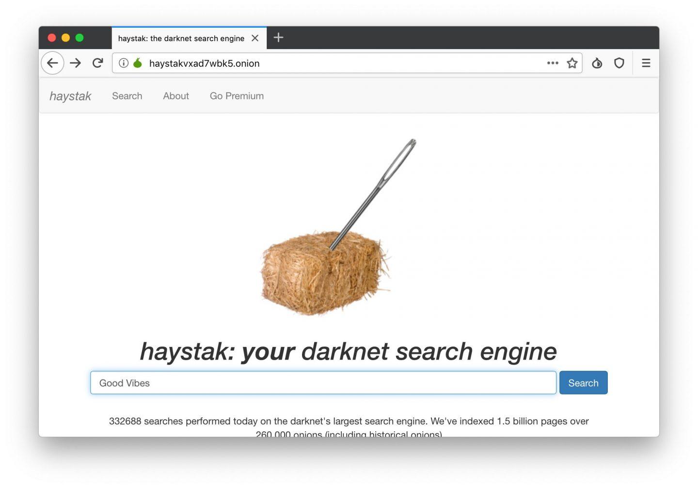 HayStack sucht die Nadel im  Heuhaufen.