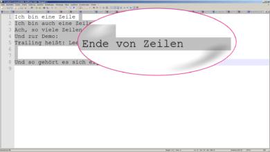 Bild von Feature Picking: Nieder mit den Trailing Spaces mit Notepad++ (S01E10)