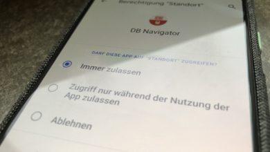 Bild von Android 10: Apps untersagen, im Hintergrund den Standort abzufragen