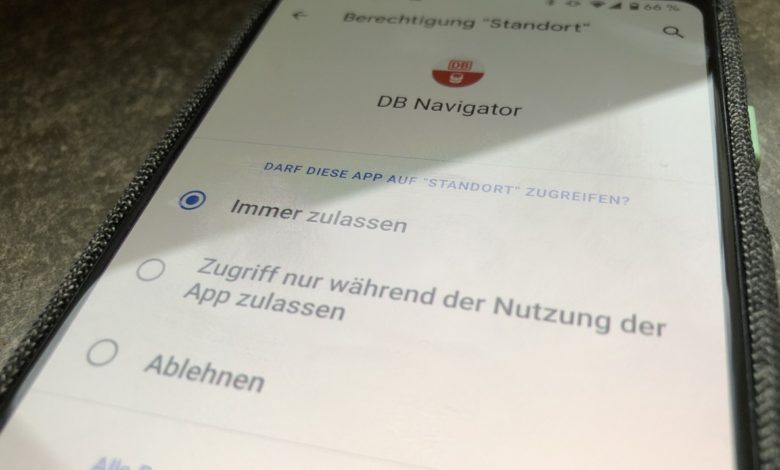 Android 10 Standort zugriff