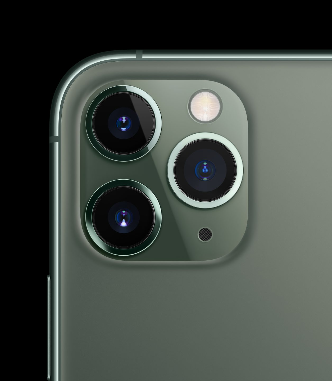 Drei Kameras machen To... Tr... Trypophobie. Sagen Spinner. (Bild: Apple)