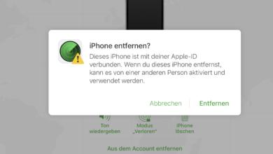 Bild von Anleitung: iPhone-Aktivierungssperre nachträglich entfernen