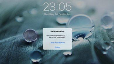 Bild von iOS-Beta und iPadOS-Beta entfernen