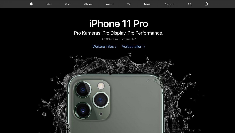 iphone 11 pro raten
