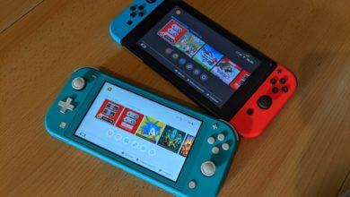Nintendo Switch Lite und Switch