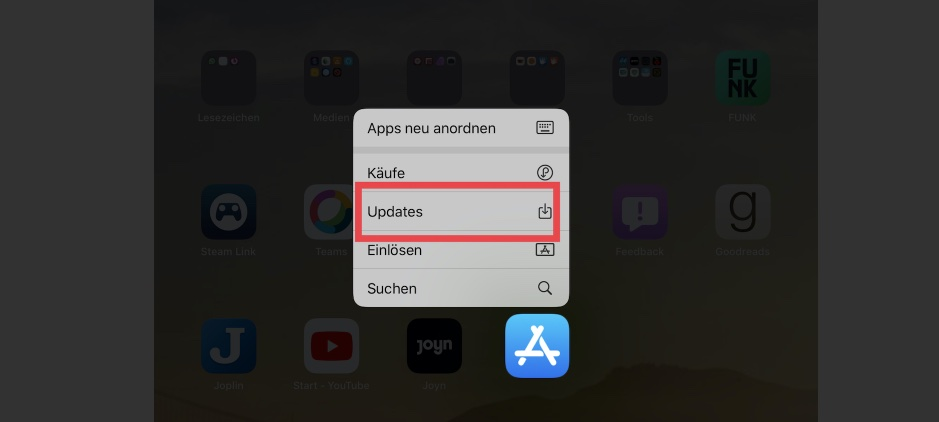 iOS 13 App-Updates Shortcut.jpeg 2019-10-22 12-58