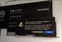 Bild von macOS Catalina: Prüft Eure Software, bevor Ihr das Update macht!