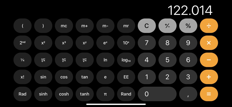 Der iPhone-Taschenrechner kann viel mehr.