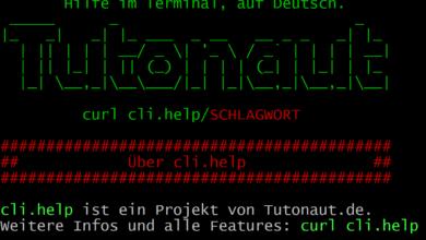 Bild von Neu: cli.help – Praktische Hilfe im Terminal, auf Deutsch