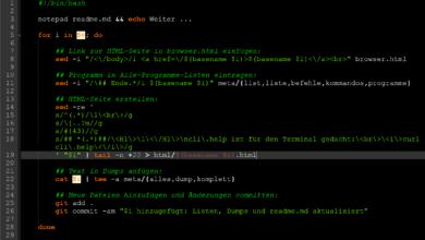 Bild von Simples Scripting im Alltag: 26 Stunden beim cli.help-Workflow gespart :)