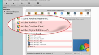 Bild von Windows-Software unter Linux nutzen