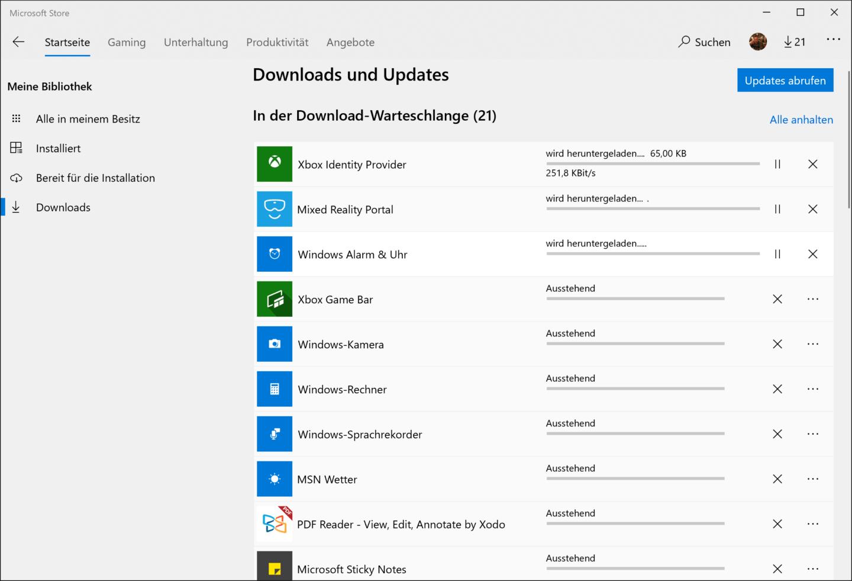 Nach der Windows-10-Installation ist erst einmal die Jagd nach Bloatware angesagt.