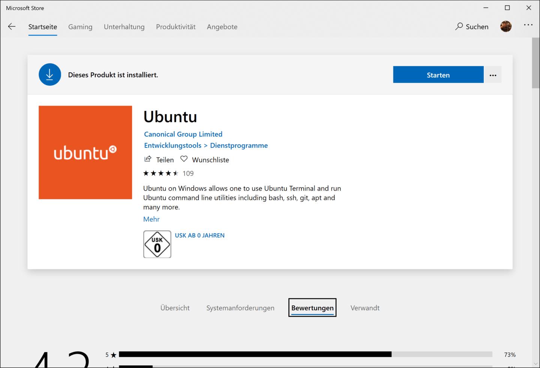 Linux unter Windows? Kann eigentlich weg...
