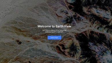 Bild von Google Earth View oder: Die Schönheit der Erde von oben