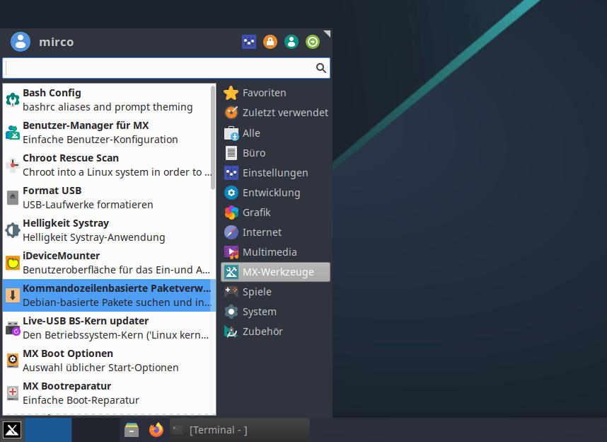 mx linux