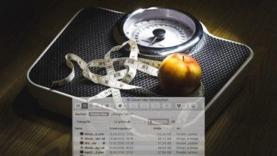 Bild von macOS: Große Dateien und Ordner mit Bordmitteln identifizieren