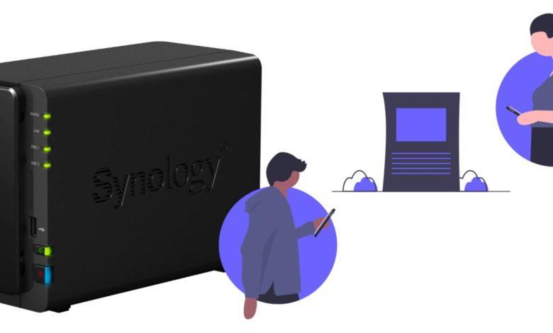 synology dateien ordner freigeben