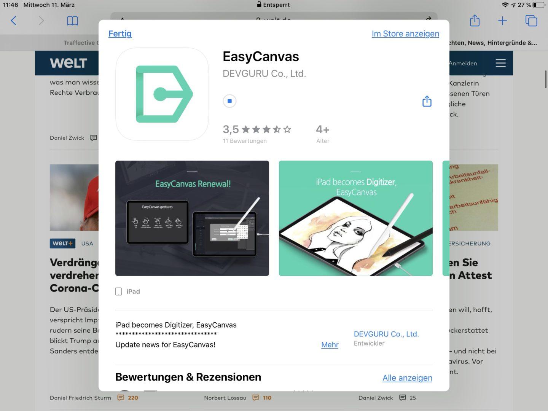 EasyCanvas gibt's im App-Store.