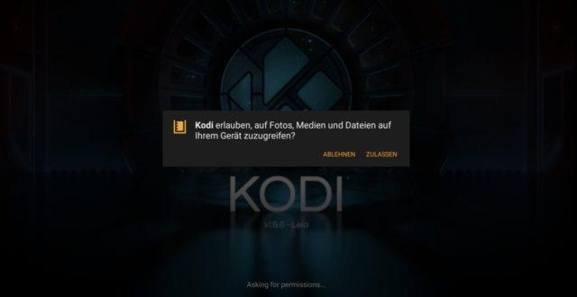 Kodi Amazon Fire HD Zugriff
