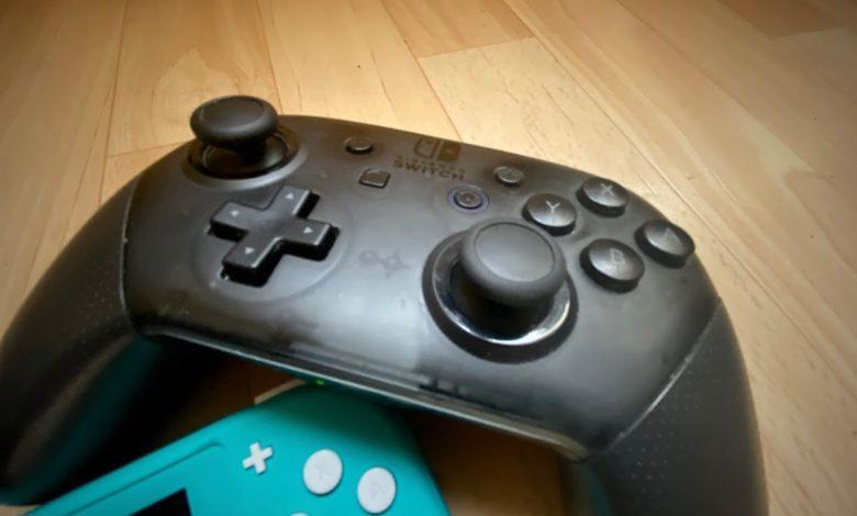 Nintendo Switch Buttons anpassen