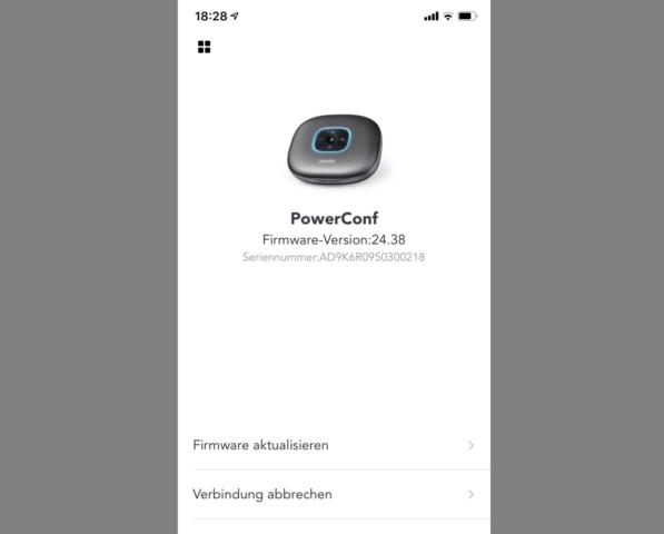 anker PowerConf Firmware Update