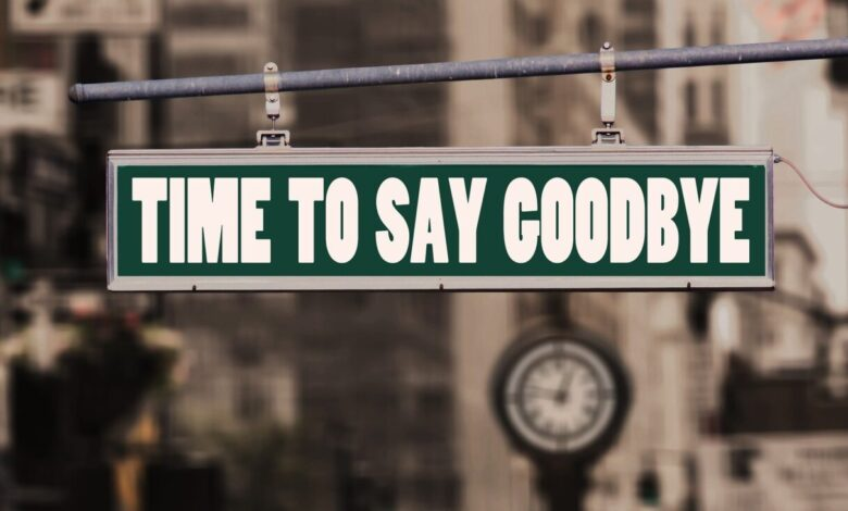 Time to say goodbye (Bild: Gerd Altmann/Pixabay)