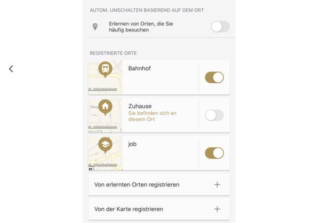 Sony Headphones App ANC automatisch