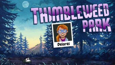 Bild von Gratis-Spiel: Thimbleweed Park – Delores