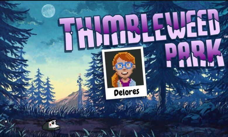 Thimbleweed Park Delores Download gratis